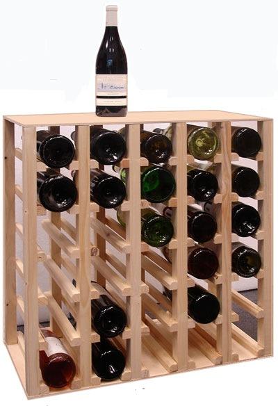 Idee rangement bouteille vin