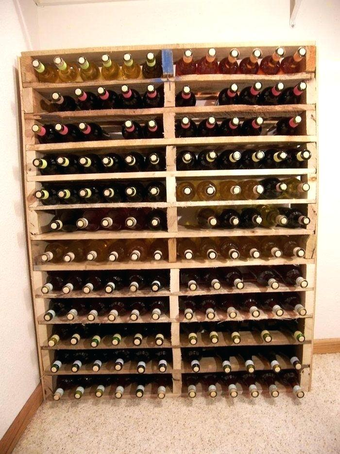 Rangement a bouteille de vin