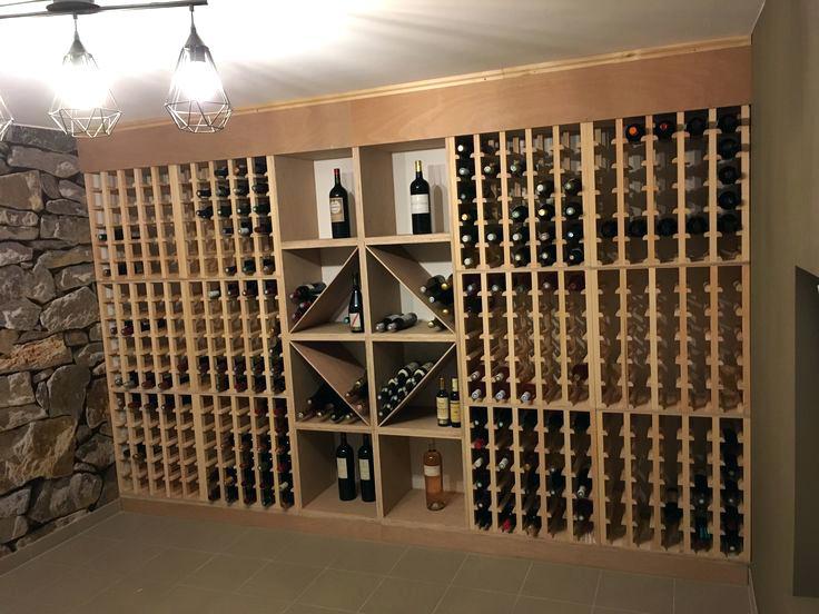 Rangement cave a vin en fer