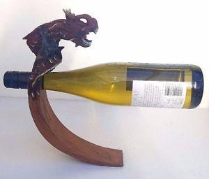 Porte bouteille bois equilibre