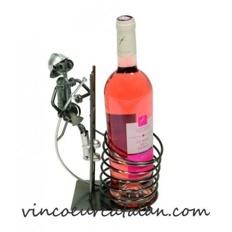 Porte bouteille de vin pompier