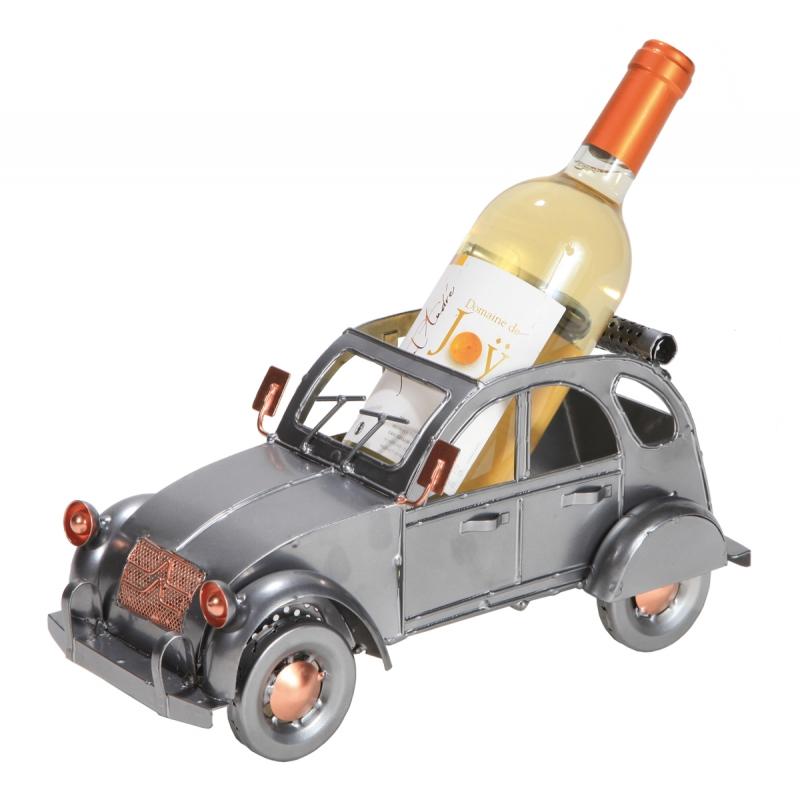 Porte bouteille vin décoratif