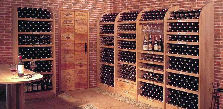 Armoire a vin bois