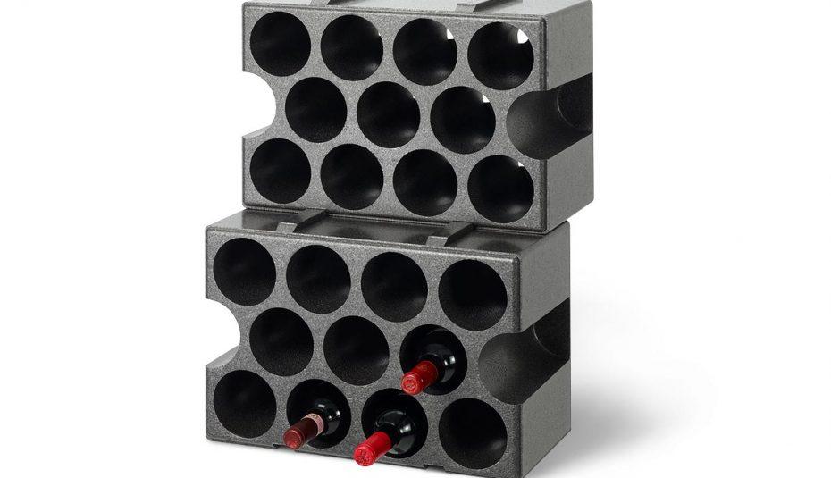 casier bouteilles polystyrene. Black Bedroom Furniture Sets. Home Design Ideas