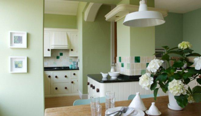 Peinture cuisine vert clair