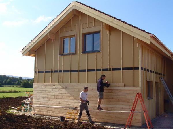 Peindre une maison ossature bois