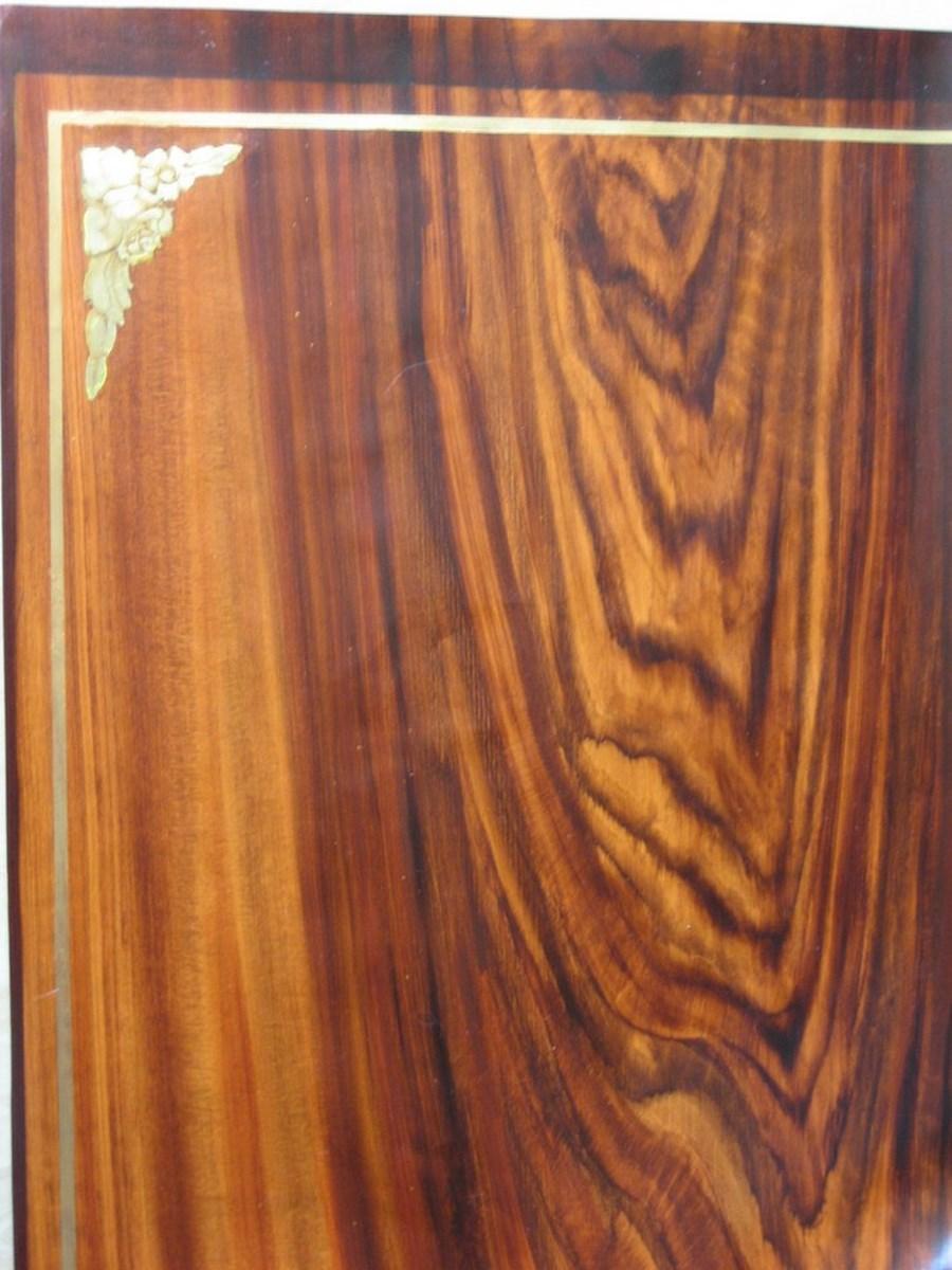 Decoration peinture faux bois