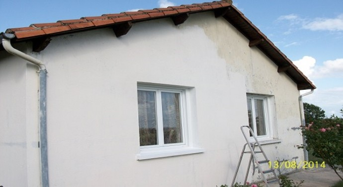 Peinture maison facade