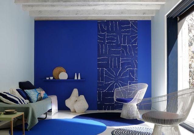 Decoration peinture ou papier peint