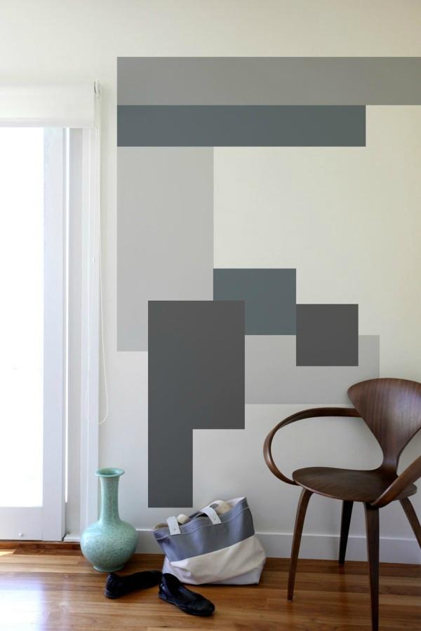 Deco peinture forme geometrique