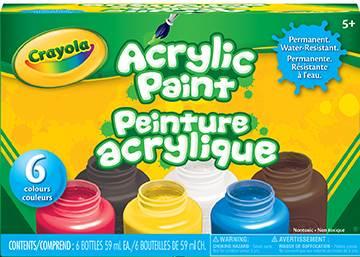 Peinture acrylique jouet