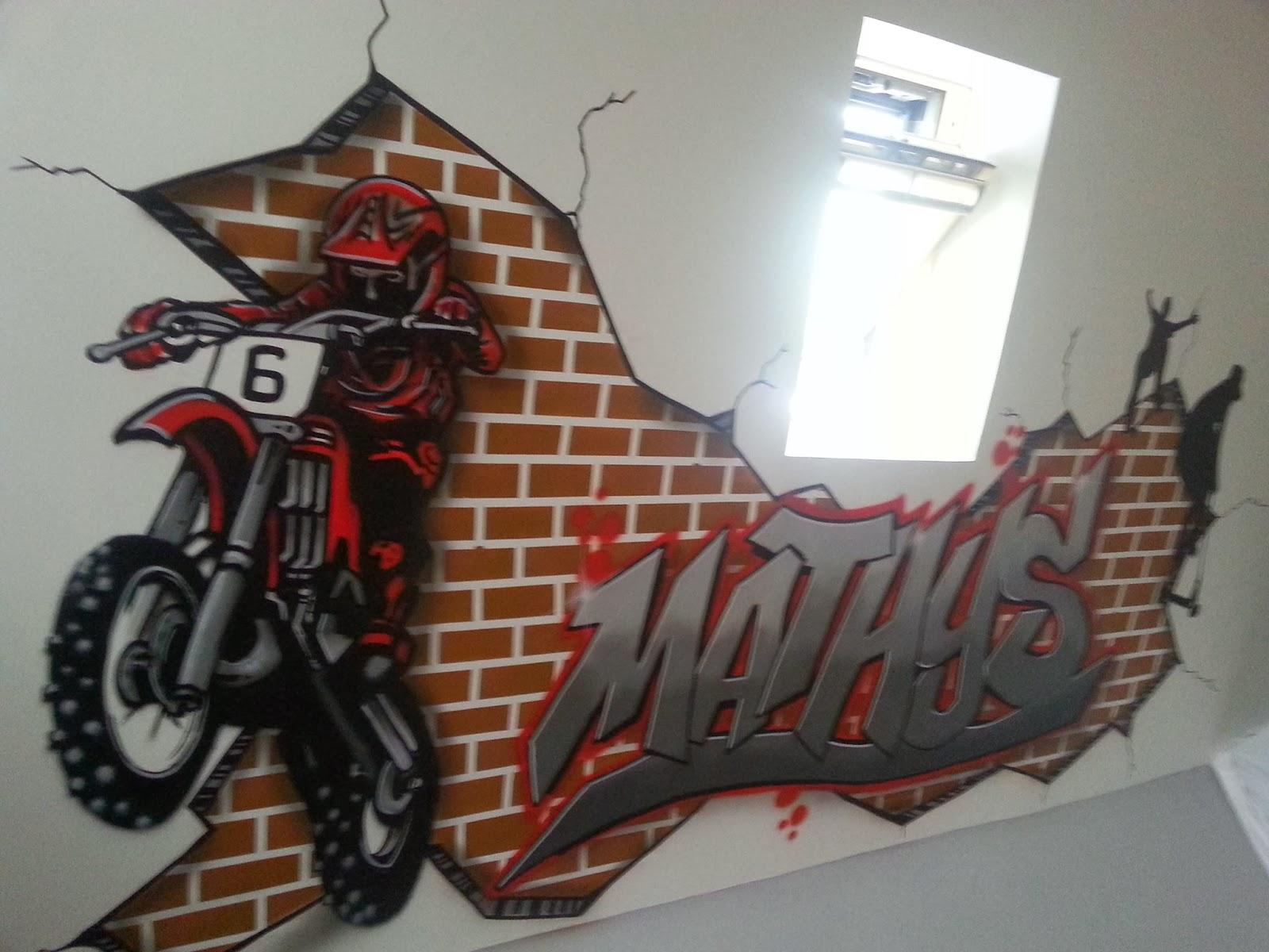 Peinture decoration graffiti