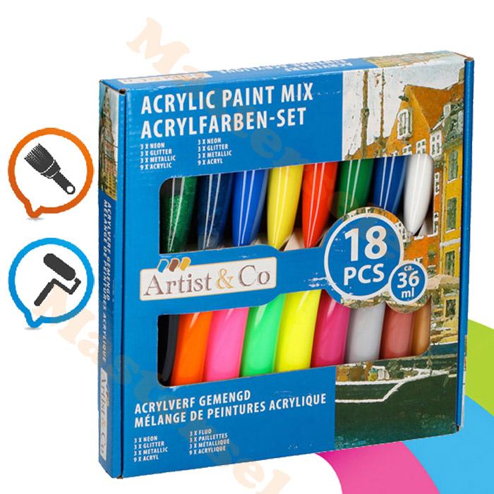 Peinture acrylique fine