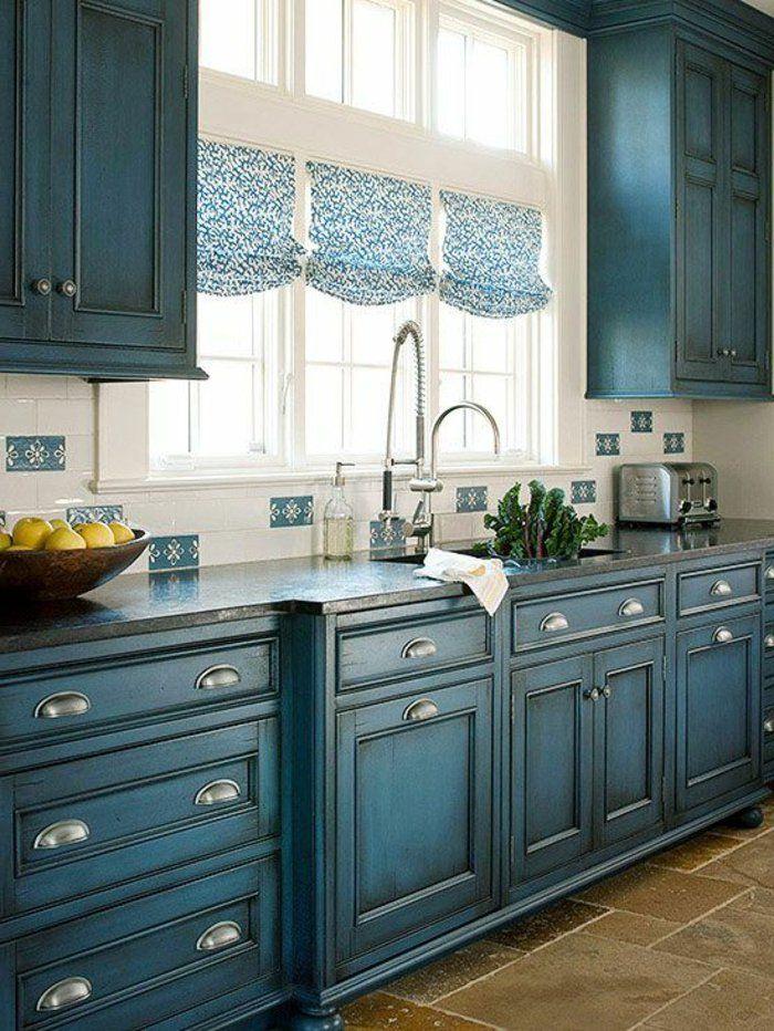 Peinture meuble cuisine couleur