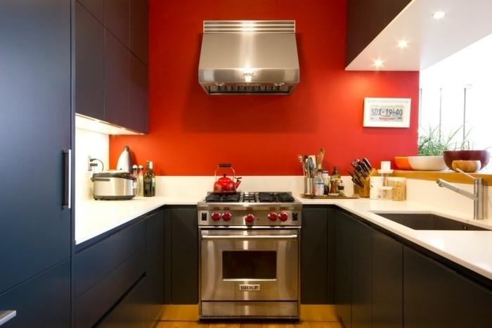 Idee Peinture Pour Cuisine Rouge Livreetvin Fr