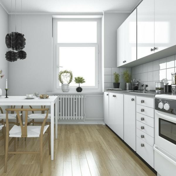 Peinture meuble cuisine boisine