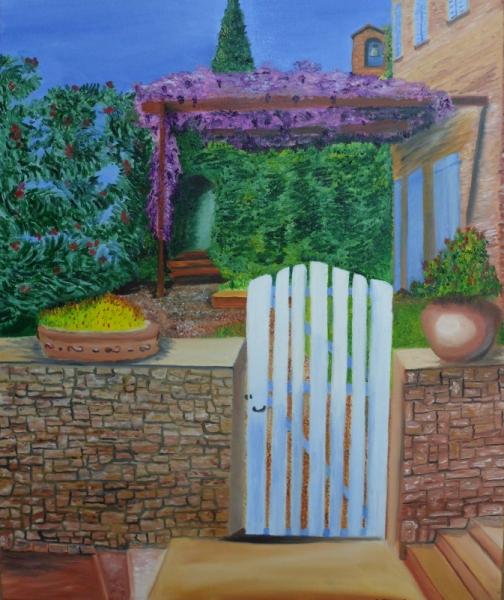 Peinture maison vacances