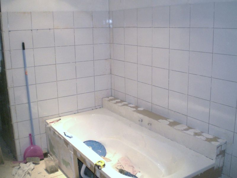 Peinture carrelage salle de bain bricomarché