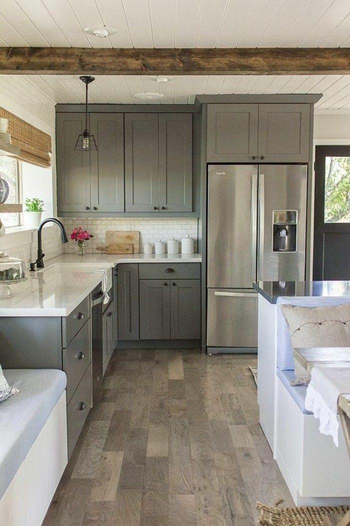 Repeindre sa cuisine en gris clair