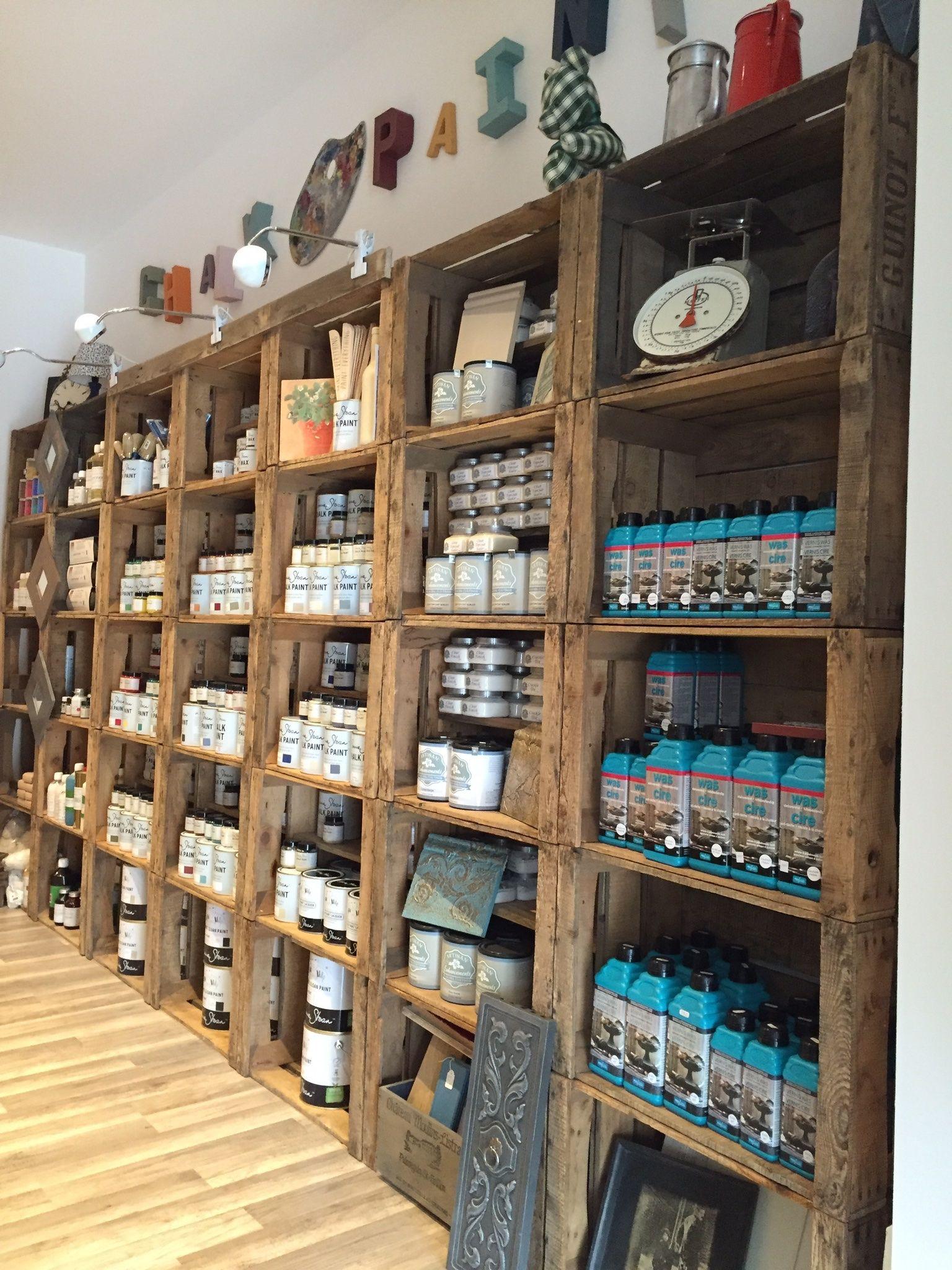 Boutique de peinture décorative sur bois