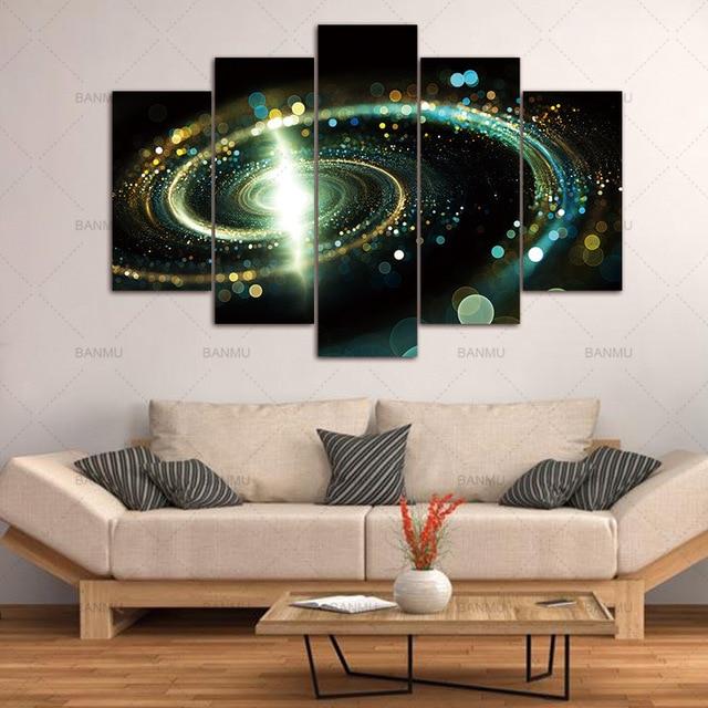 Peinture maison galaxy