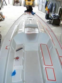 Devis peinture coque bateau