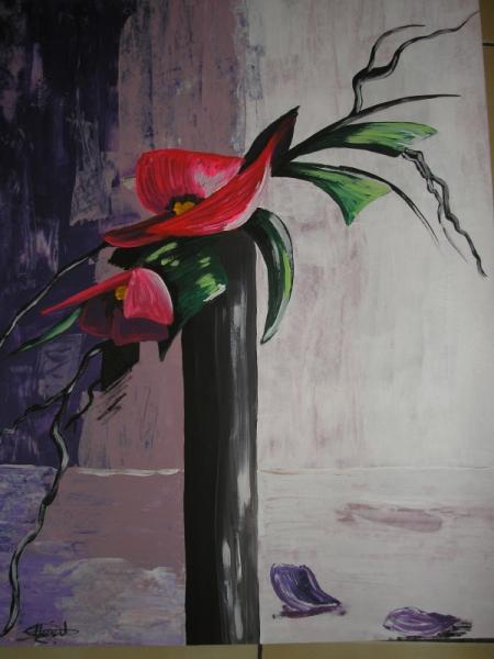 Peinture acrylique zen