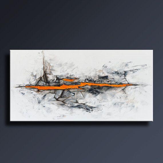 Peinture acrylique mur gris