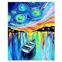 Peinture acrylique sur toile pas cher