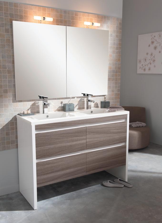 Tendance salle de bain carrelage ou peinture