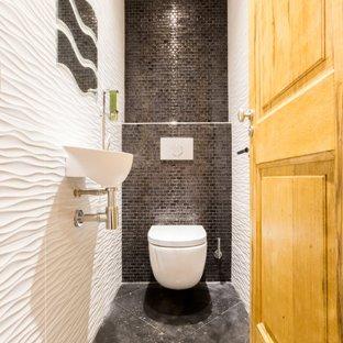 Idee peinture carrelage wc