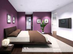 Peinture décoration chambre à coucher