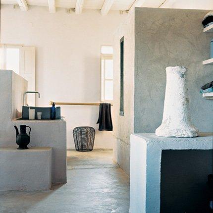 Peinture maison grecque