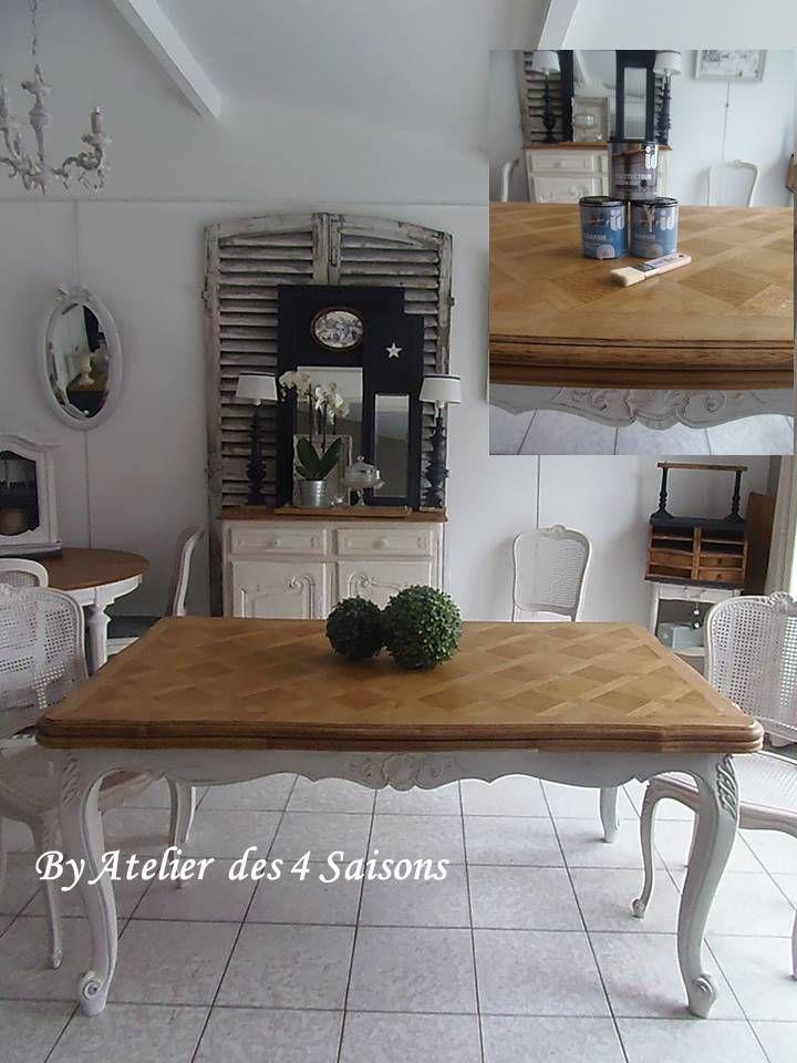 Peinture deco table