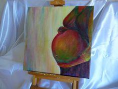 Peinture acrylique enceinte