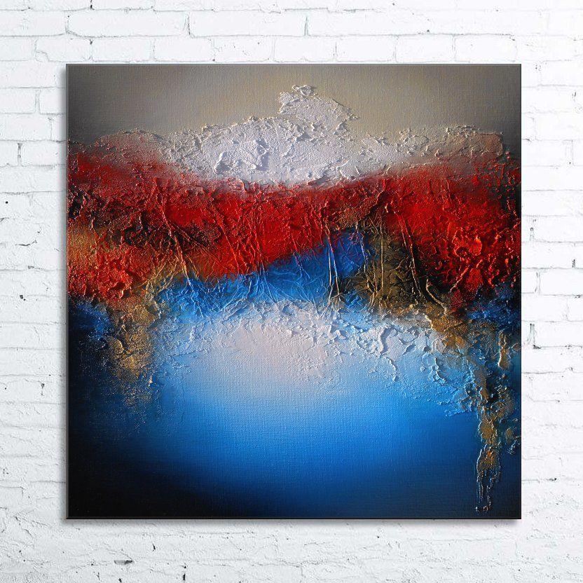 Peinture acrylique sur toile moderne