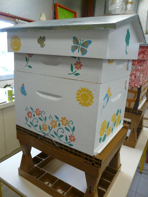 Peinture maison ruche