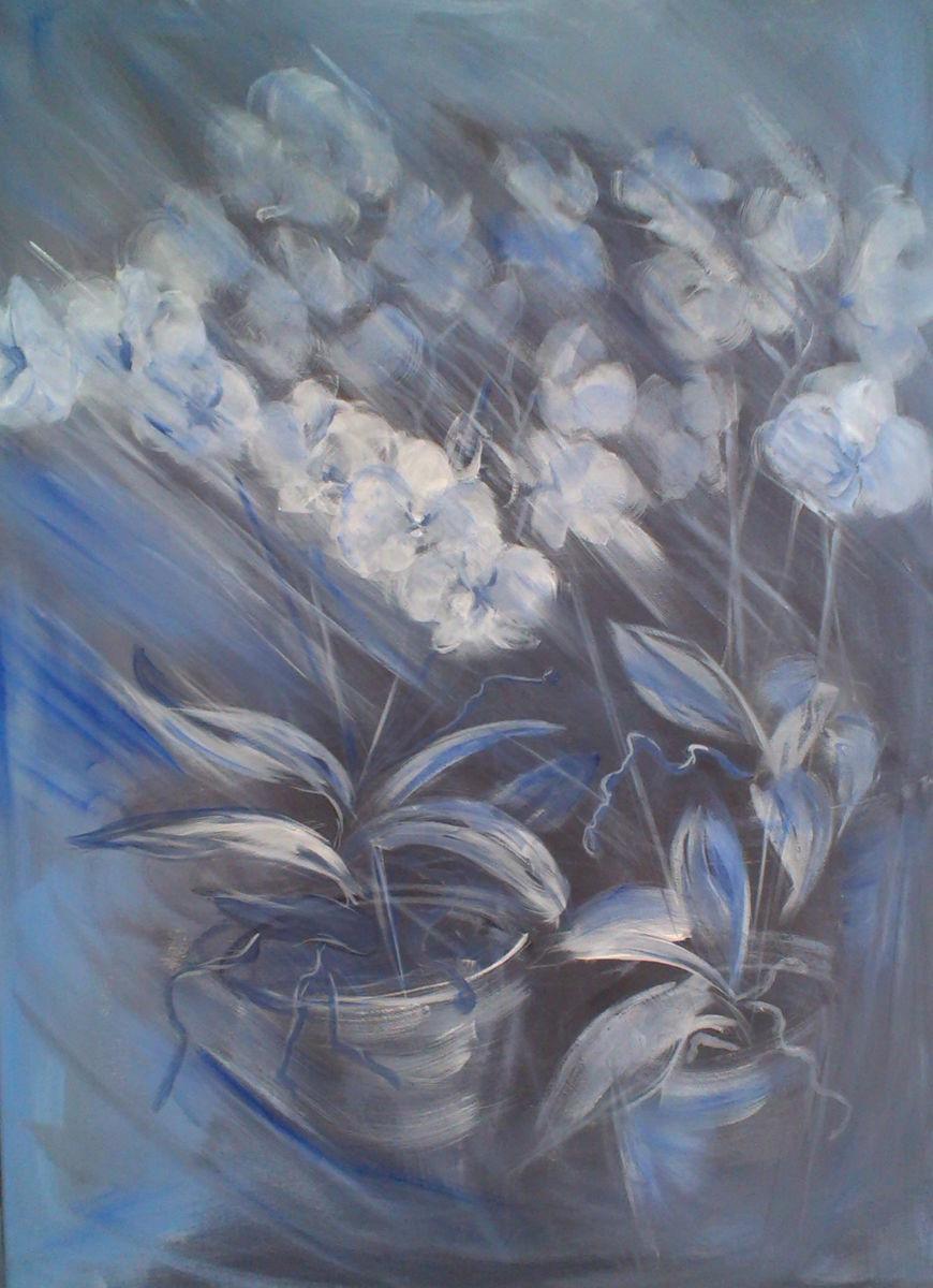 Peinture acrylique grand format