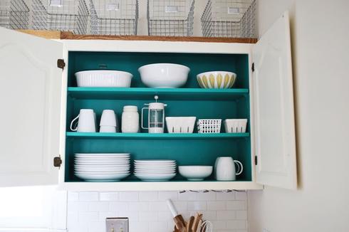 Peindre armoire cuisine