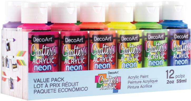 Peinture acrylique decoart