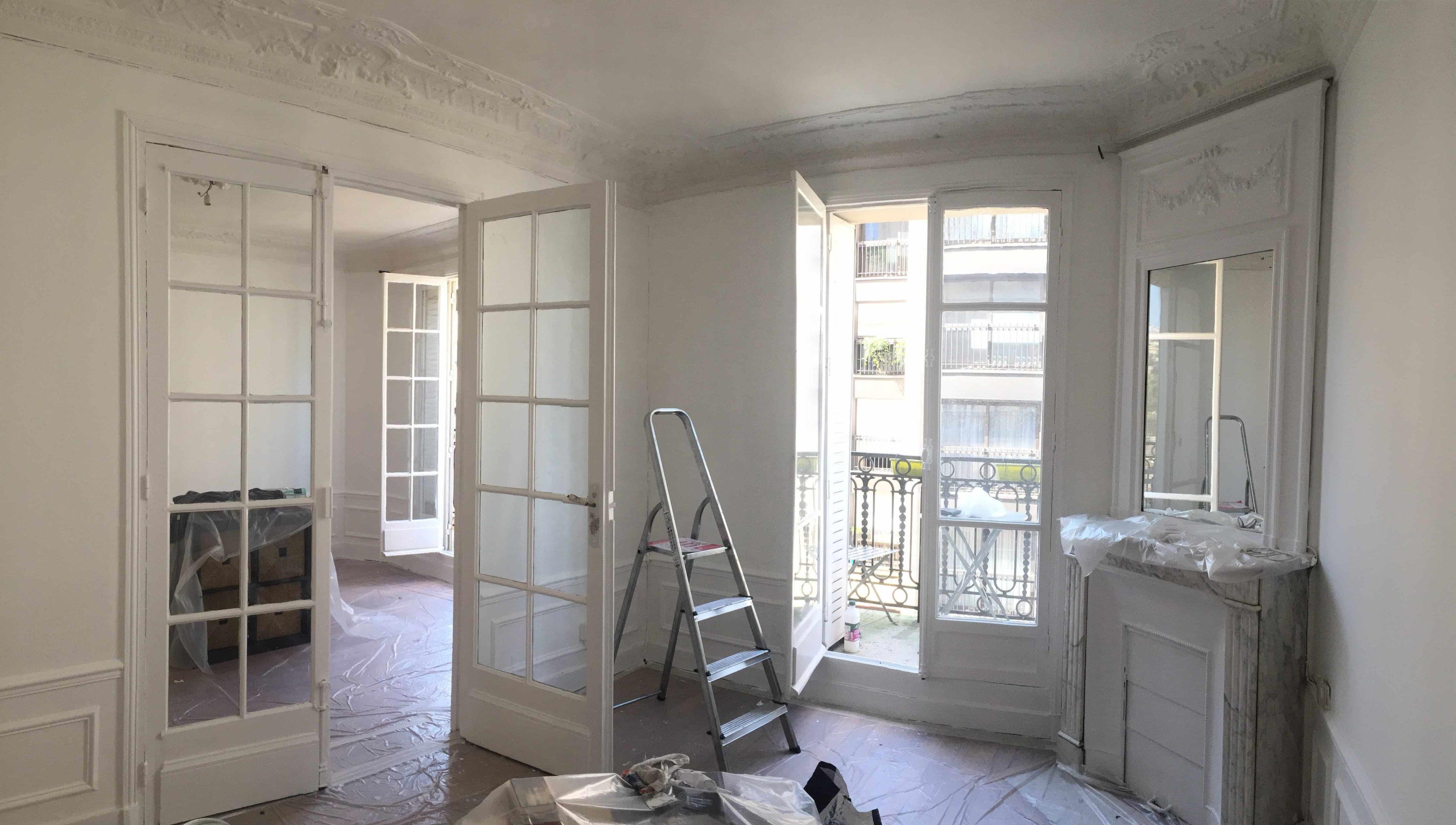 Devis peinture salon 20m2