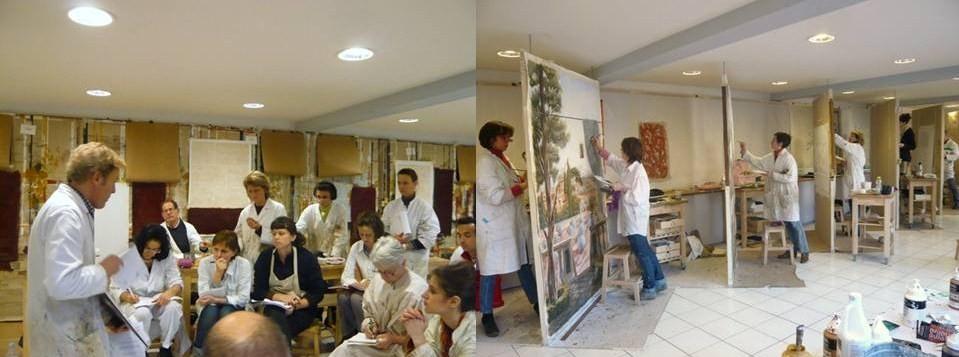 Peinture décoration cours