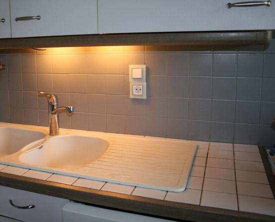 Peinture carrelage salle de bain gris perle