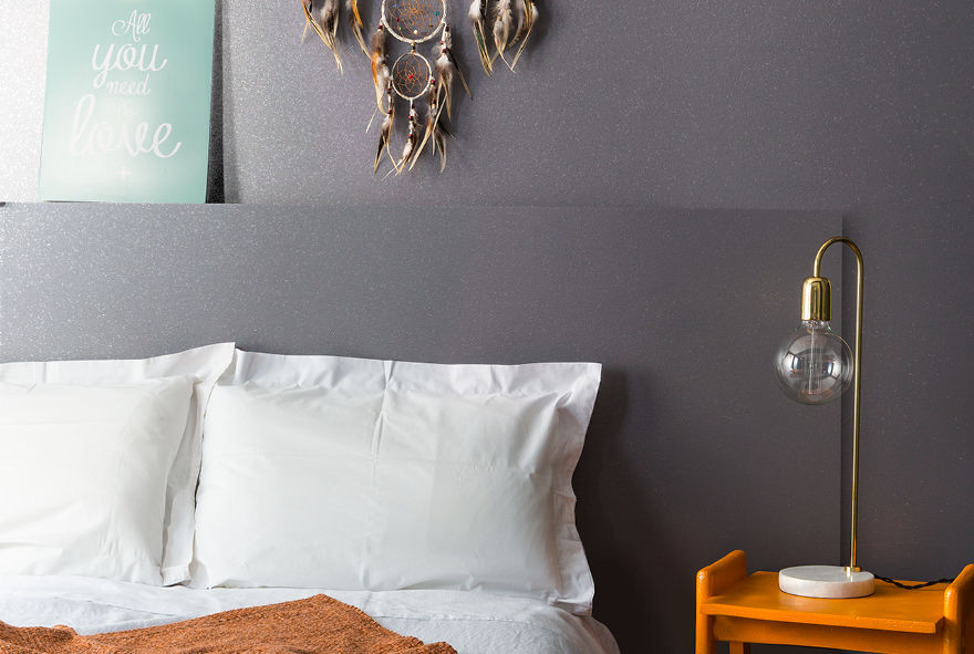 Additif paillettes pour peinture maison déco strass argent