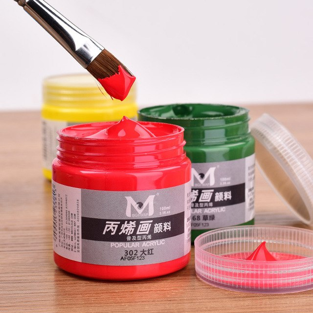 Tube peinture acrylique meilleur prix
