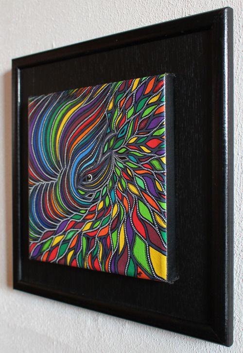 Blog peinture acrylique sur toile
