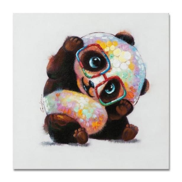 Peinture acrylique animaux