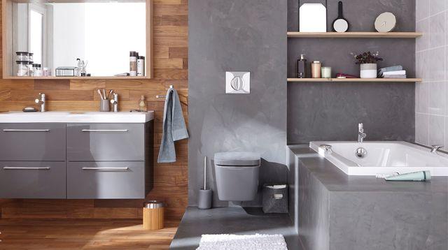 Peinture ou carrelage dans une salle de bain - Livreetvin.fr