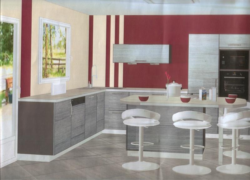 Peinture carrelage cuisine gris clair - Livreetvin.fr
