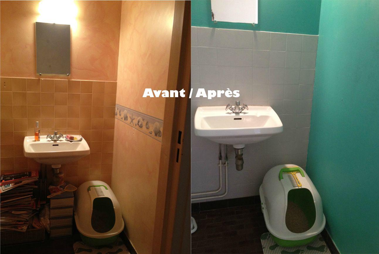 Peindre carrelage salle de bain quelle couleur